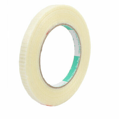 10mm Width Insulating Fiber Glass Tape Adhesive 50 Meters Length for RC Airplane