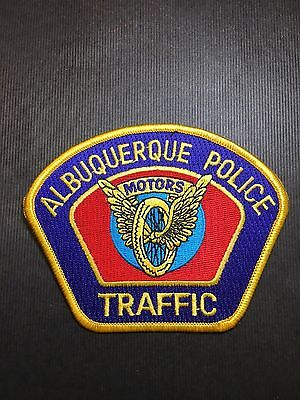 Albuquerque New Mexico Traffic  Police  Shoulder Patch