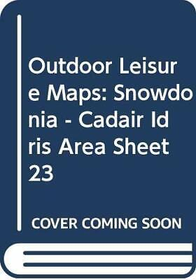 Outdoor Leisure Maps: Snowdonia - Cadair... by Ordnance Survey Sheet map, folded