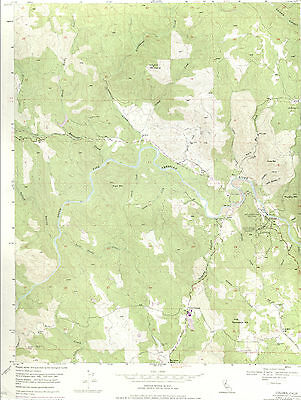 COLOMA, CALIFORNIA   1949/73 USGS Topographic Map   Original 7.5-minute Topo Map