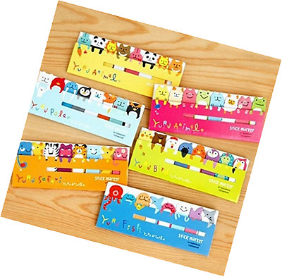 Set of 4 Lovely Cute Cartoon Animal Frog Bear Dolphin Post-It Note Sticky