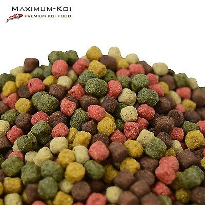 KOIFUTTER *Classic Top Mix* KOI 5 Sorten 2,5 - 15 kg / Grower Spirulina Krill