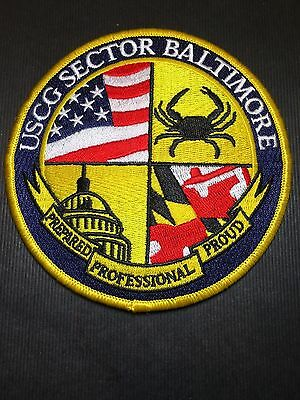 United States Coast Guard Baltimore Shoulder Patch