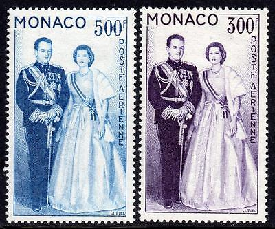MONACO MNH 1959 SG615-616 Air Stamps