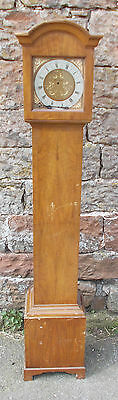 VINTAGE Grandmother CLOCK Longcase CASE Only EMPTY For RESTORATION