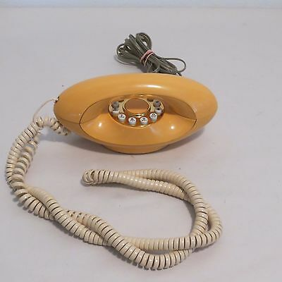 Vintage Genie Touchtone Telephone By American Telecommunications Peach Colored