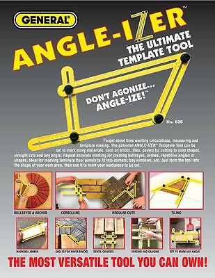 Template Tool General Tools 836 Angleizer For Repetitive Spacing Ang Gauging