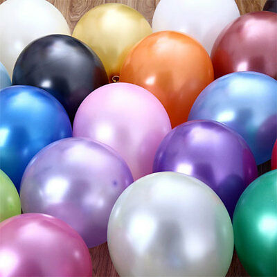 12'' 10pcs High Quality Pearl Latex Thick Party Wedding Balloons 3.2g Helium