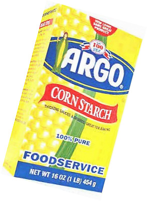 Argo Corn Starch 16 Ounce Box Pack of 3