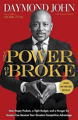 The Power of Broke by Daymond John Paperback Book