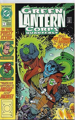Green Lantern Corps Quarterly  #1 (NM) `92 Various