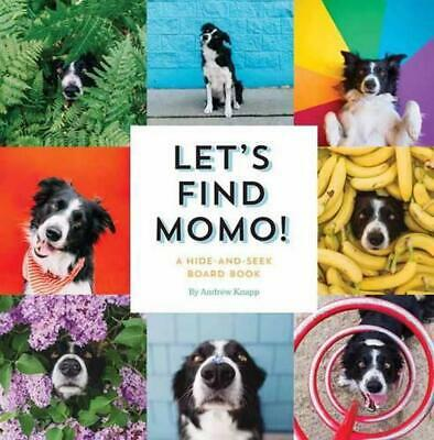 Let's Find Momo!: A Hide-And-Seek Board Book by Andrew Knapp (English) Board Boo