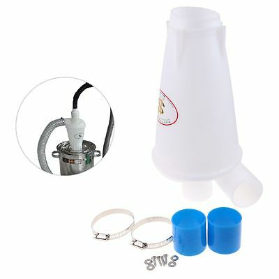 Industrial High Efficiency Cyclone Powder Dust Collector Filter For Vacuums IA1