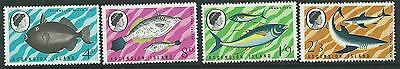 Ascension Sg113/6 1968 Fish (First Series) Mnh