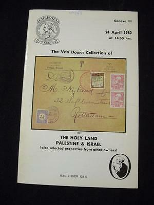 Christies Robson Lowe Catalogue 1989 Palestine Holyland & Israel 'van Doorn'