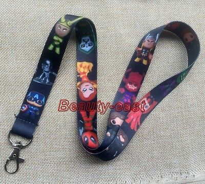 Lot Cartoon anime Neck Strap Lanyards Mobile Phone Key Chain Party Favors P224