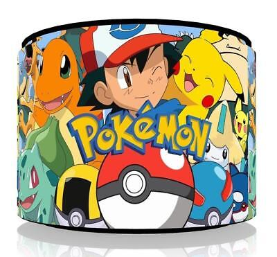 "Pokemon Go  Ceiling Light Lamp Light Shade 11""  - 4 Designs ,free  P & P"