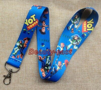 Lot Toy Story 3 Neck mobile Phone lanyard Keychain straps charms Gift P225