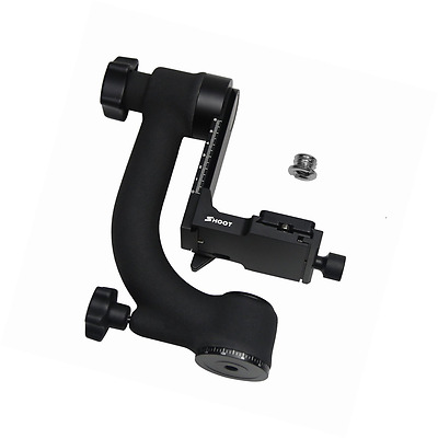 SHOOT 360-degree Panoramic Gimbal Tripod Head for Canon Nikon DSLR SLR Camera