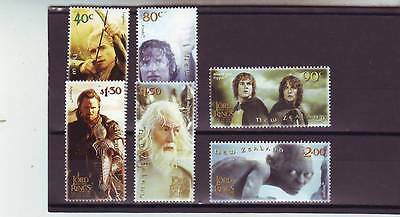 NEW ZEALAND - SG2652-2657 MNH 2003 MAKING LORD OF THE RINGS - 3rd ISSUE