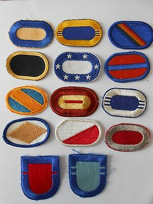 1960`s-1970`s  vintage  lot of 14   American beret patches some special forces