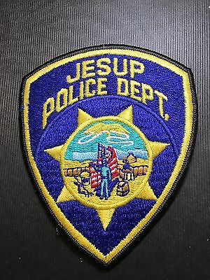 Jesup Iowa Police  Shoulder Patch