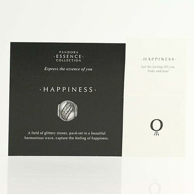 *BEAD NOT INCLUDED* New Pandora Essence Collection Happiness 35 Cards 40 Sleeves