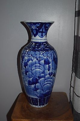 A  Fine Large Antique  Japanese Imari  Arita Vase-19Thc