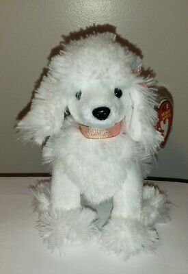 Ty Beanie Baby ~ L'AMORE the White Poodle Dog ~ MINT with MINT TAGS ~ RETIRED