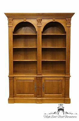 ETHAN ALLEN Legacy 65? Double Arch Bookcase 213 Russet Finish 13-9320