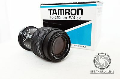 Tamron 70-210mm F4-5.6 Macro zoom lens 58A model FUNGUS