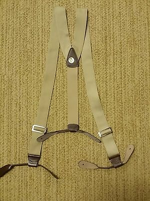Made In Usa! Cowboy-Civil War-Steampunk- Webbing Suspenders-