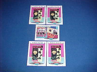 Set 5 Classic Toys Trading Cards Beatles Remco Doll & Flip Your Wig Board Game