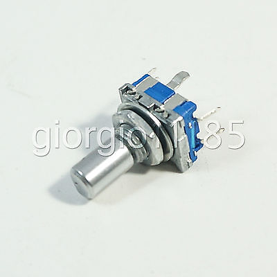 US Stock 5pcs Rotary Encoder Switch EC11 Audio Digital Potentiometer Handle 15mm
