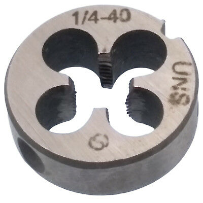 US Stock New HSS 1/4-40 UNS Die Right Hand Thread