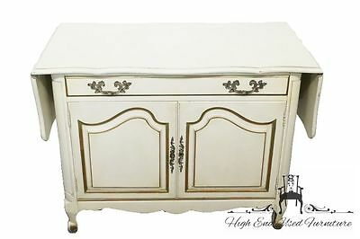 KARGES French Provincial Drop Leaf Server / Buffet