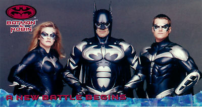 Batman and Robin Movie Widevision Card Set