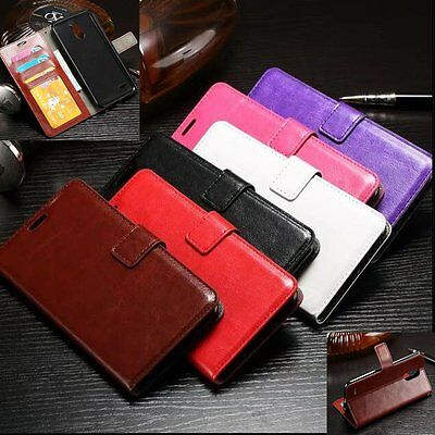 Luxury PU Leather Flip Wallet Cover Card Stand Case For LG G Stylo 3 / Stylus 3
