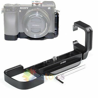 LB-A6000 Vertical Quick Release Plate L-Bracket Grip Holder For Sony A6000【UK】