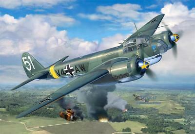 REVELL 03935 - 1/48 WWII Dt. JUNKERS Ju88 A-4 - NEU