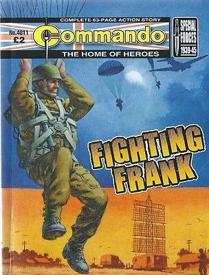 Fighting Frank,commando The Home Of Heroes,no.4811,war Comic,2015