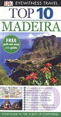 DK Eyewitness Top 10 Travel Guide: Madeira by Catling, Christopher Paperback The