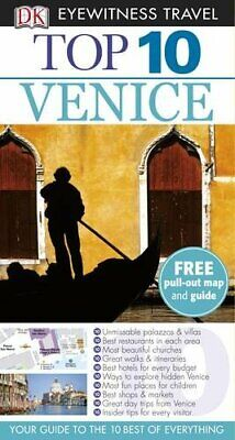 DK Eyewitness Top 10 Travel Guide: Venice by DK Paperback Book The Cheap Fast
