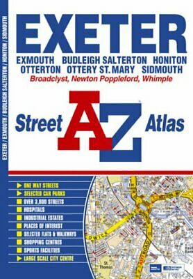 Exeter Street Atlas by Geographers A-Z Map Company 1843485044