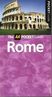 Pocket Guide Rome Paperback Book The Cheap Fast Free Post