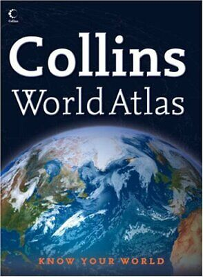 Collins World Atlas Hardback Book The Cheap Fast Free Post