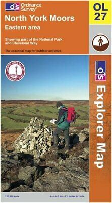North York Moors: Eastern Area (OS Explo... by Ordnance Survey Sheet map, folded