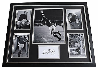 Colin Stein Signed FRAMED Photo Autograph Huge display Rangers Football & COA