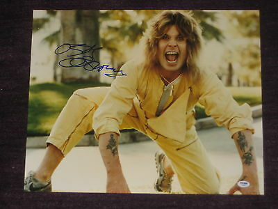 OZZY OSBOURNE Signed 16 x 20 PHOTO with PSA COA