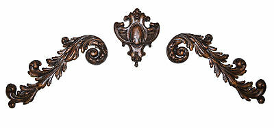 Hickory Manor House 3 Piece Medallion Scroll Wall Décor Set